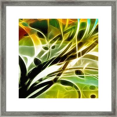 Organic Spring Framed Print by Ann Croon