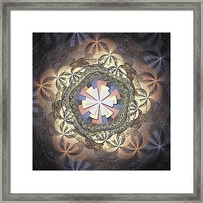 Organic Weave Framed Print by Anastasiya Malakhova