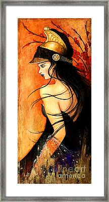 Orian Framed Print by Dori Hartley