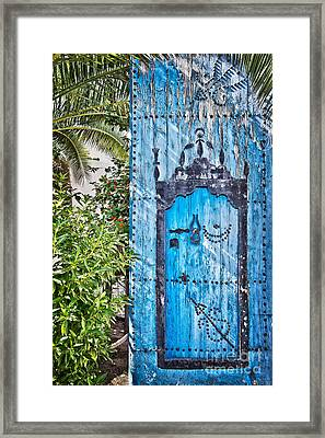 Oriental Garden Framed Print by Delphimages Photo Creations