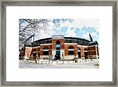 Oriole Park - Camden Yards Framed Print by Bill Cannon