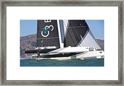 Orion And Friend Framed Print by Steven Lapkin
