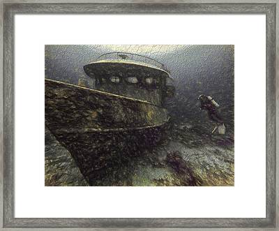 Orion Framed Print by David Wagner