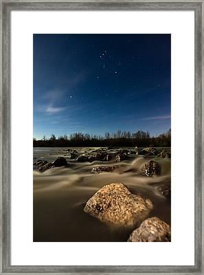 Orion Framed Print by Davorin Mance