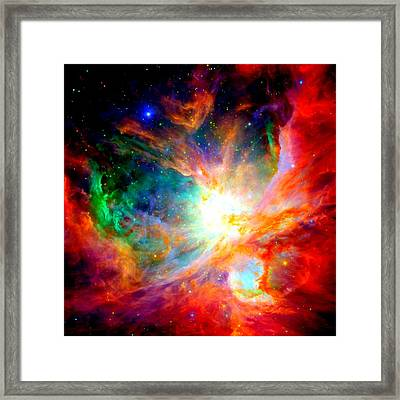 Orion Nebula Close Up II Framed Print by L Brown