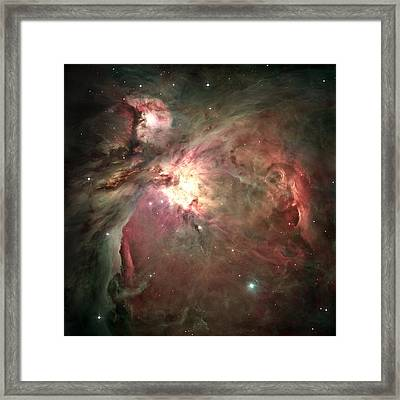 Space Hollywood - Orion Nebula Framed Print by Marianna Mills