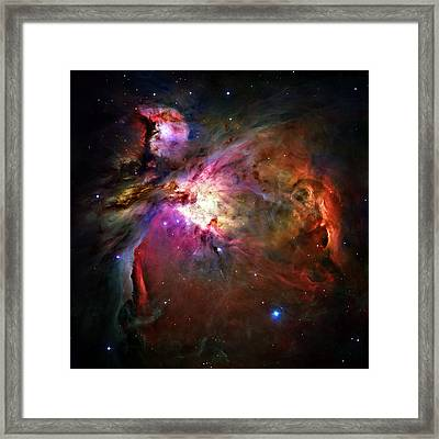 Orion Nebula Framed Print by Ricky Barnard