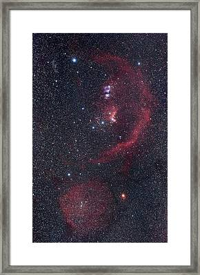 Orion Nebulae Framed Print by Luis Argerich