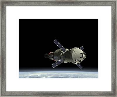 Orion Service Module Framed Print by Movie Poster Prints