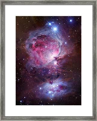 Orion Sword Framed Print by Celestial Images
