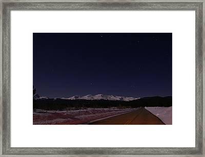 Orion's Descent Framed Print by Jeremy Rhoades