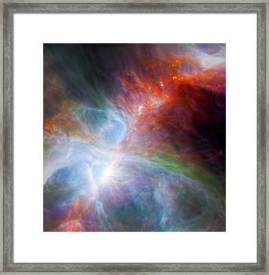 Orion's Rainbow 1 Framed Print by The  Vault - Jennifer Rondinelli Reilly