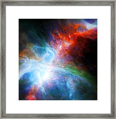Orion's Rainbow 2 Framed Print by The  Vault - Jennifer Rondinelli Reilly