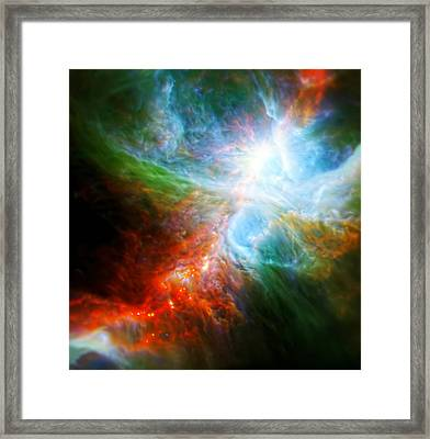 Orion's Rainbow 4 Framed Print by The  Vault - Jennifer Rondinelli Reilly
