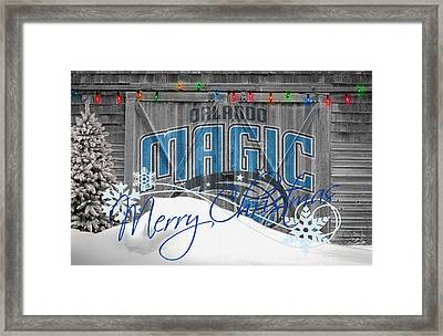 Orlando Magic Framed Print by Joe Hamilton