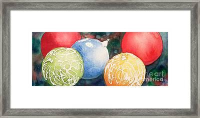 Ornaments Framed Print by Yoshiko Mishina