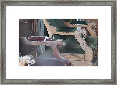 Ornate Chairs Framed Print by Mark Eisenbeil