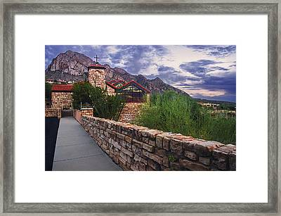 Oro Valley United Church Of Christ Framed Print by Dave Dilli