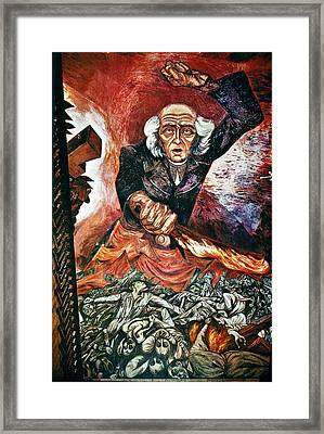 Orozco 'father Hidalgo' Framed Print by Granger