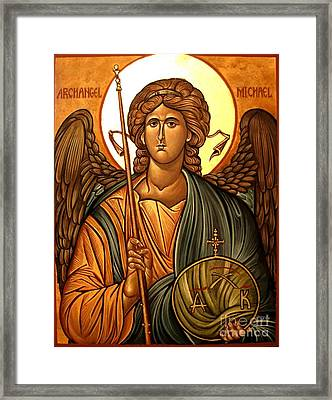 Orthodoxy Icon Framed Print by Archangelus Gallery
