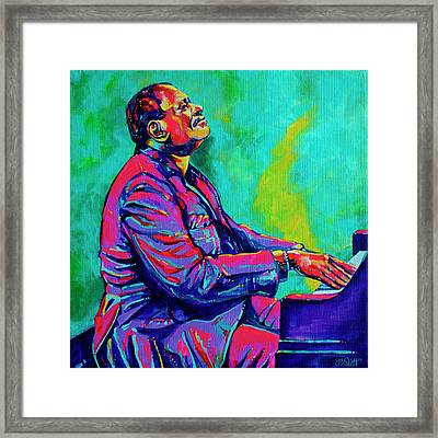 Oscar Framed Print by Derrick Higgins