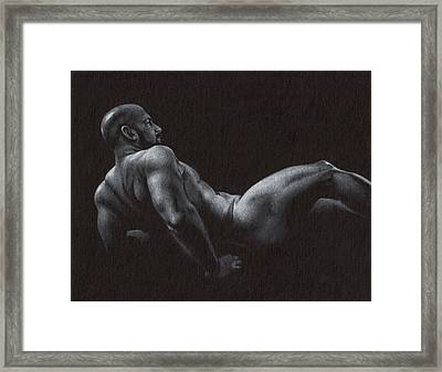 Oscuro 5 Framed Print by Chris  Lopez