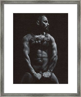 Oscuro 9 Framed Print by Chris  Lopez
