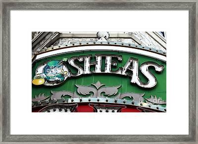 O'sheas Framed Print by John Rizzuto