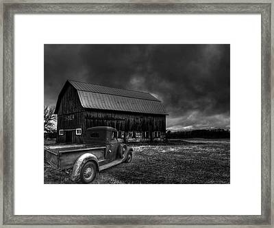 Oslo Corners Farm Framed Print by Thomas Young