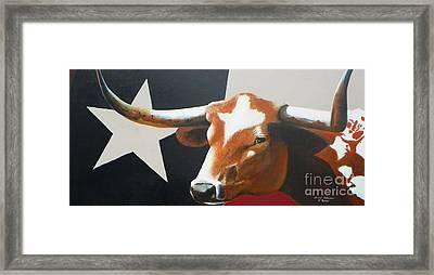 O'texas Framed Print by David Ackerson