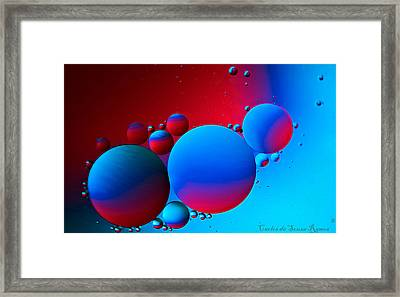 Other Small Worlds Framed Print by Carlos Ramos