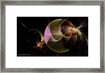Other Worlds Framed Print by Linda Whiteside