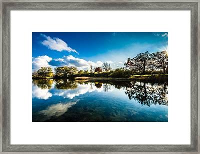Ottawa Lake Framed Print by Randy Scherkenbach
