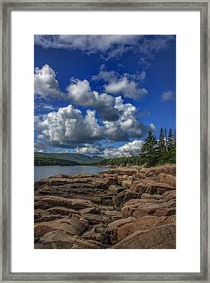 Otter Point Afternoon Framed Print by Rick Berk