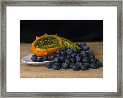 Ouch And Yum Framed Print by Scott Campbell