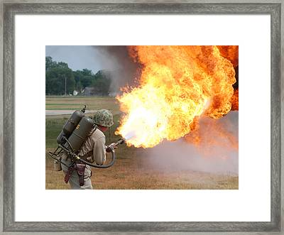 Ouch Framed Print by Thomas Woolworth