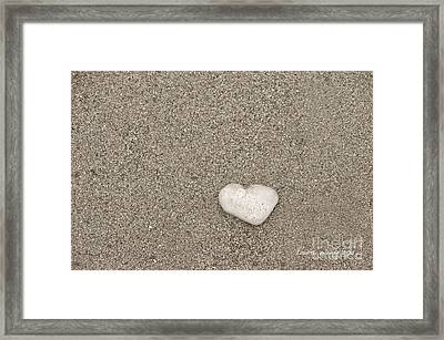 Our Beach Memories Framed Print by Artist and Photographer Laura Wrede