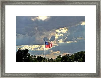 Our Country Framed Print by Dan Sproul