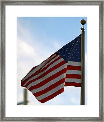 Our Flag Was Still There Framed Print by Shoal Hollingsworth