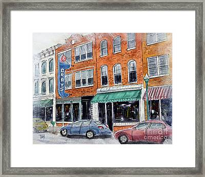 Our Franklin Framed Print by Tim Ross