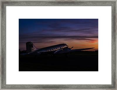 Our Heritage At Sunrise Framed Print by Amber Kresge