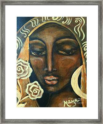 Our Lady Of Infinite Possibilities Framed Print by Maya Telford