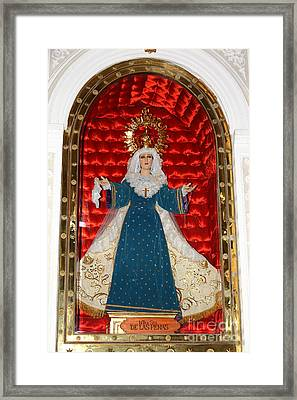 Our Lady Of Sorrows Framed Print by James Brunker