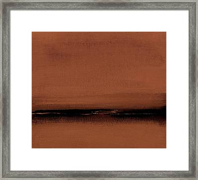 Our Oceans  The Continental Dividers  Number 1133-1 Framed Print by Diane Strain