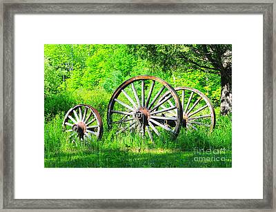 Our Past Framed Print by Catherine Reusch  Daley