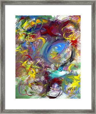 Our Song Framed Print by Jason Stephen
