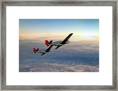Our Time In The Sun Framed Print by Peter Chilelli