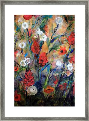 Our Wish Is Simple Framed Print by Mary C Farrenkopf