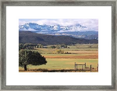 Ouray County Framed Print by Eric Glaser