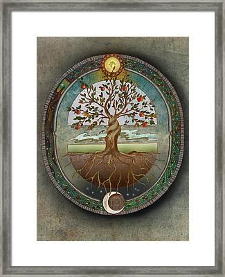 Ouroboros Framed Print by Brenda Erickson